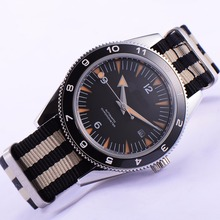41mm debert black Sandwich dial 21 jewels miyota Automatic mens wrist Watch D11