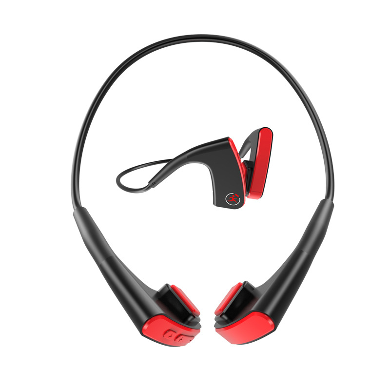 Hyleton Bone Conduction Headphones Bluetooth V4.1 Earphones Wireless Sports Headset 160mAh battery for iPhone, Android