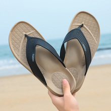 New Arrival Summer Men Flip Flops High Quality Beach Sandals Anti-slip Zapatos Hombre Casual Shoes Zapatillas