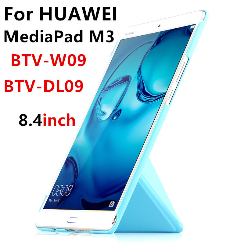 PU Case For Huawei MediaPad M3 Smart cover Leather Tablets PC Protective 8.4 inch Case For Huawei M3 BTV-W09 BTV-DL09 Protector ultra thin pu leather cover for huawei mediapad m3 case 8 4 inch magnetic cover case for huawei mediapad m3 btv w09 btv dl09