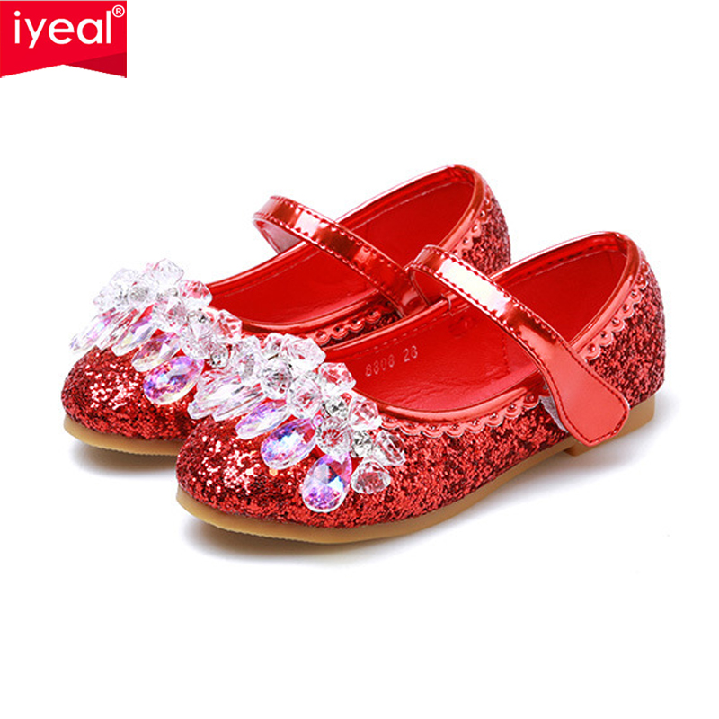 Cattior Toddler Little Kid Flower Girl Shoes Cute Dress Shhoes
