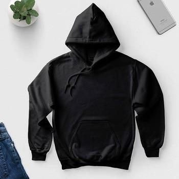 Hoodies tùy chỉnh văn bản của bạn ở đây thời trang Unisex quan hệ nhân quả tops chất lượng cao chui jumper đen trắng xám hồng áo
