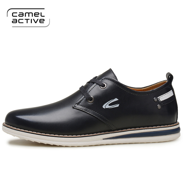 Camel Active 2017 New Arrival men dress shoes genuine leather men's wedding  shoes brand men shoes