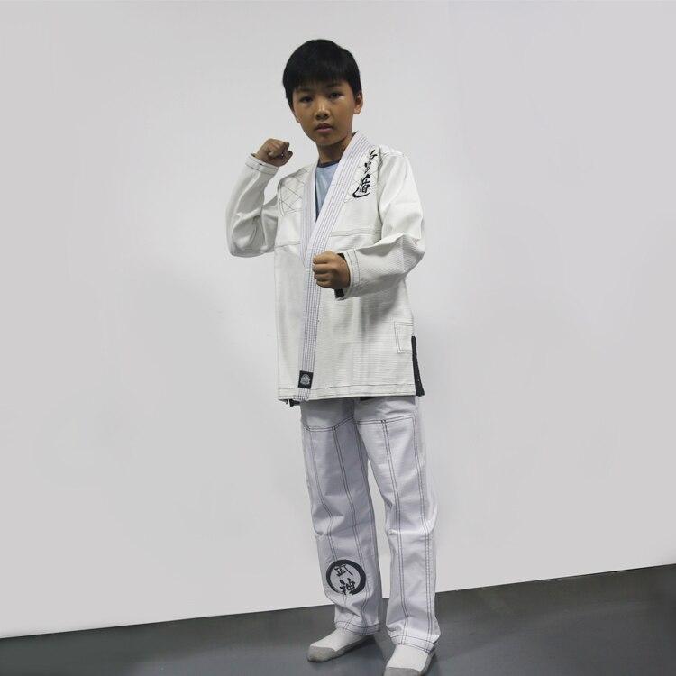 Kid's (boys And Girls) Brizilian Jiu-jitsu Gi Children's Trainning/competing Bjj Kimonos