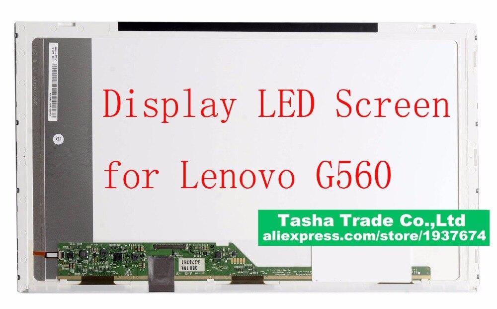 Display for Lenovo G560 LCD Screen LED Matrix 1366*768 HD Glossy for lenovo b560 screen matrix for laptop 15 6 wxga hd 1366 738 led display lcd glossy