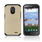 Dual Layer Hybrid Armor Case Heavy Duty Impact Protective Hard Cover For ZTE Stratos Allstar LTE Z818L Z819C Z819L Z818G