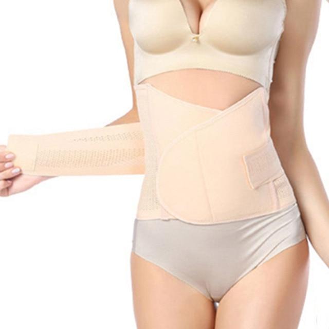 ae2333d32a856 New Postpartum Belt Maternity Belt Slim Belly Belt Band Postpartum Body  Recovery Shapewear Slimming Underwear Waist Trainer Belt