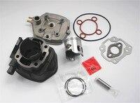 Motorcycle Engine Cylinder SR 50 Cylinder Kit Piston Kit For APRILIA 50 70cc 47mm Cylinder With