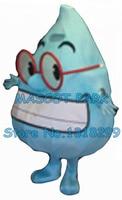 תחפושת קמע טיפת מים במפעל הסיטונאי cartoon שמח טפטוף טיפות מים נושא cosply אנימה תחפושות קרנבל תחפושת 2862