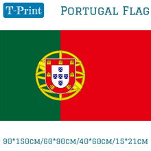 Free shipping 90*150cm/60*90cm/40*60cm/15*21cm Portugal Flag 3x5ft National For World Cup / Day Olympic Games