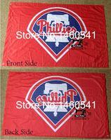 Philadelphia Phillies Flag 3ft X 5ft Polyester MLB Philadelphia Phillies Banner Flying Size No 4 144