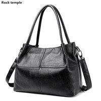 2017 Soft Leather Women Tote Bags Handbags Women Famous Brand Casual Crossbody Bag Lattice Stitching 3