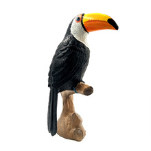 DIY Simulation Toucan Cockatoo Animal Model Bird Parrot Figurine home decor miniature fairy garden decoration accessories modern