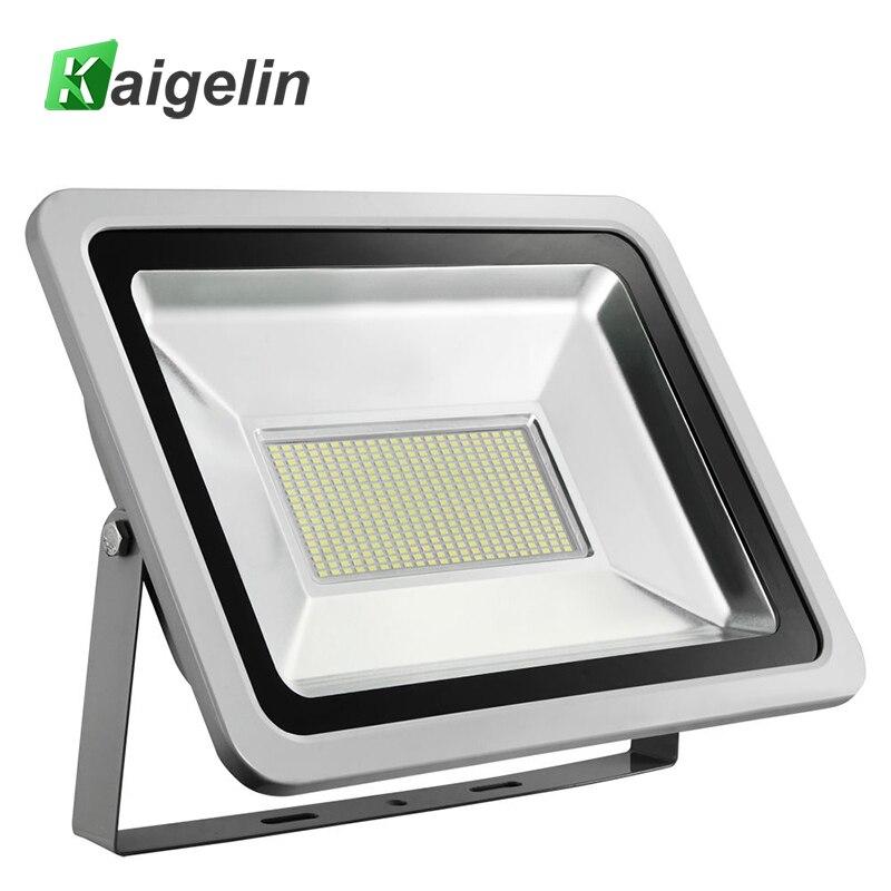 Tipo moderno 200 W llevó la luz de inundación AC 220 V-240 V 22000LM LED reflector IP65 impermeable led lámpara al aire libre jardín iluminación