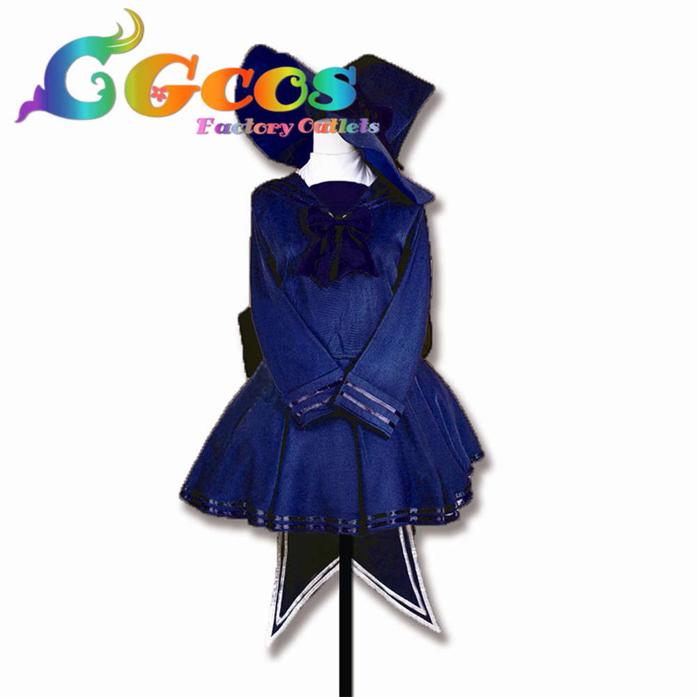 CGCOS Free Shipping Cosplay Costume Wadanohara and the Great Blue Sea Wadanohara Retail / Wholesale Halloween Christmas