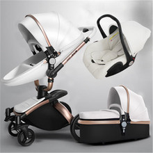 7.8 Aulon/Dearest No Tax Luxury Baby Stroller 3 In 1 Fashion Carriage European