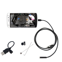 HD 7mm Lens Waterproof Android Endoscope 1m/1.5m/2m/3.5m/5m/ Cable USB Endoscope Camera Inspection Borescope Car Endoscope