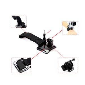 Image 4 - SnowHu for GoPro Hero 9 8 7 6 5 4 3 Accessories Black Elastic Adjustable Wrist Strap Mount for Go Pro Hero 8 SJ4000 GP93