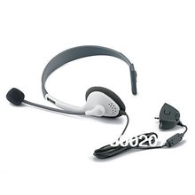 10pcs/lot Video Game Series Stylish Headset headphone with microphone for XBox 360 – Grey