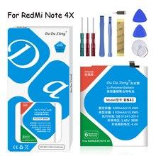 Original Da Da Xiong Lithium Polymer Battery BN43  For Xiaomi Redmi /Note 4X /Hongmi Note4X 4100mAh  Phone Replacement Batteries цена 2017