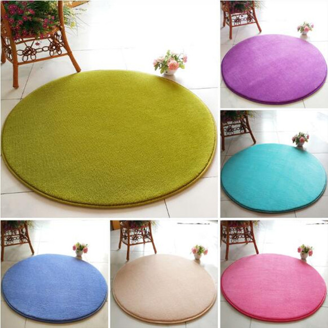 Swivel Chair On Carpet Dining Room Chairs Sets Round Simple Solid Color Hanging Basket Rattan Computer Living Coffee Table Bedroom