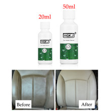 Nieuwste 20/50 ml Auto Care Refurbisher Middel Interieur Lederen Zetel Thuis Sofa Polish Wax Dashboard Cleaner Onderhoud tool(China)