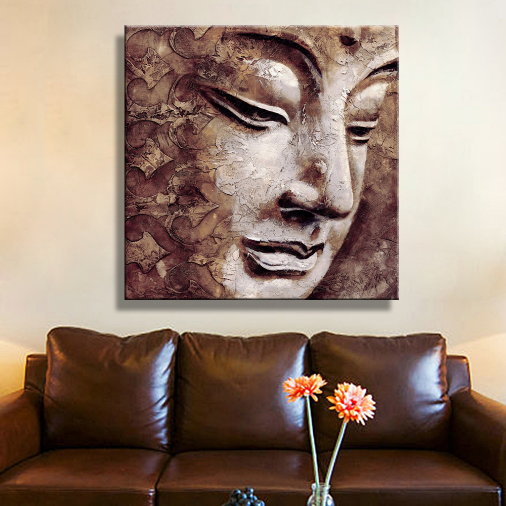 Diy 5d Diamond Paintings Buddha Wall Art Decoration, Home
