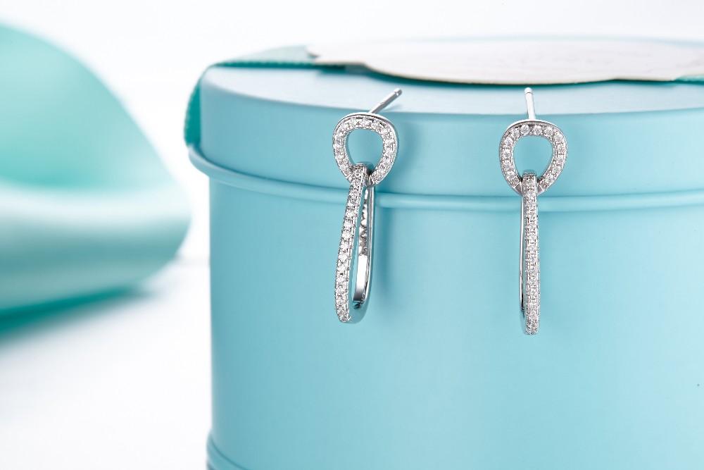 925 sterling silver earrings,large hoop earrings,earrings for women,for 925 sterling silver earrings hoops DE91420A (2)
