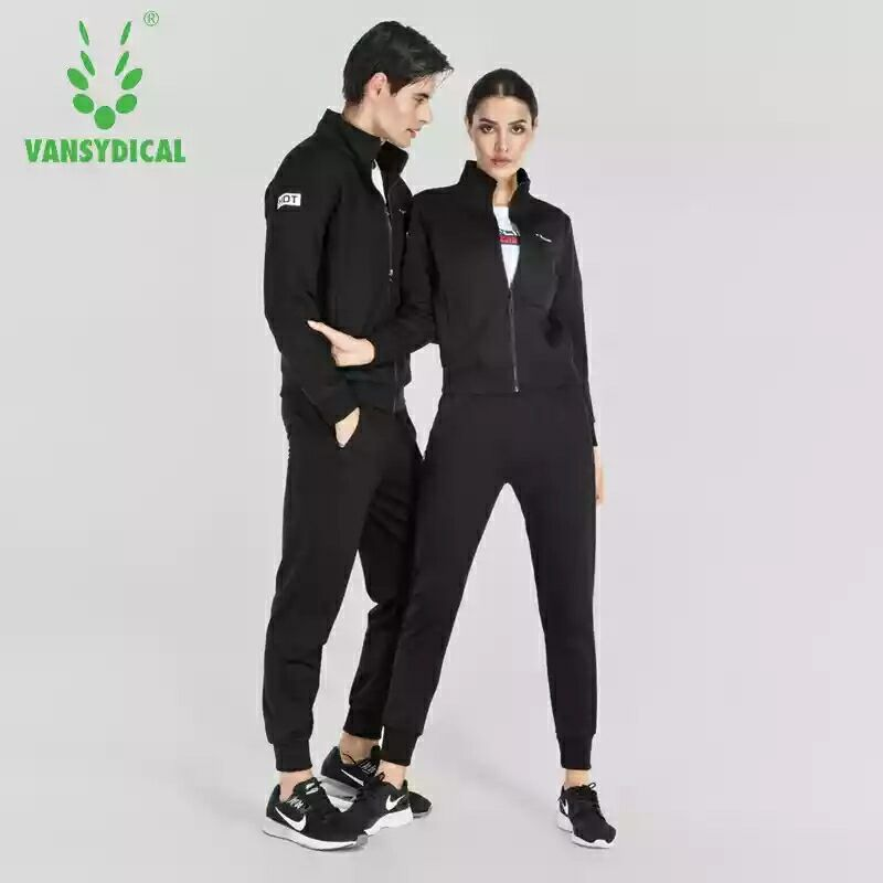 Фотография Spring And Autumn Sports Suit Couples Sportswear Suit Long Sleeved Sportswear Men And Women Running Sets