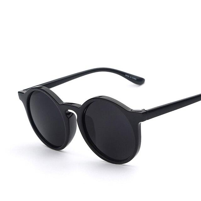 Okrągłe Okulary Przeciwsłoneczne Ombre