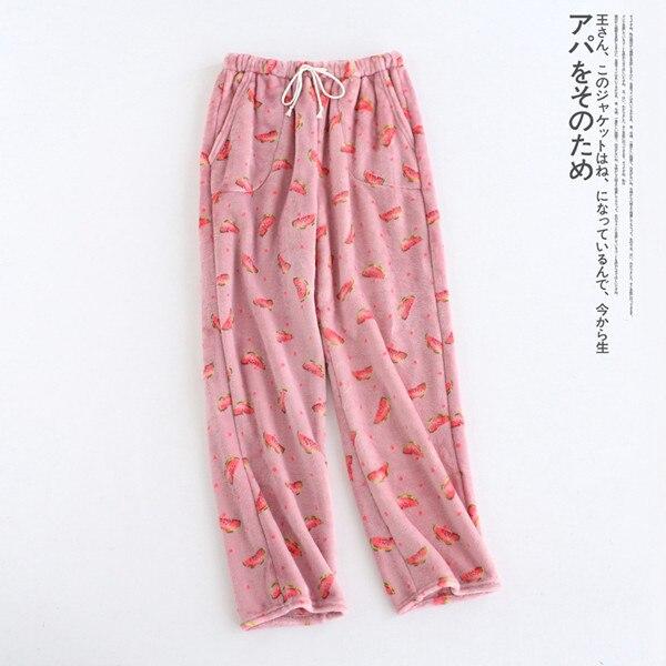 Women\\\\'S Home Pants Flannel Sleep Bottoms Pajama Pants