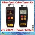 Инструменты FTTH оптический измеритель мощности и 30 МВт VFL проверки визуальный локатор красный лазерная волоконно-оптический кабель