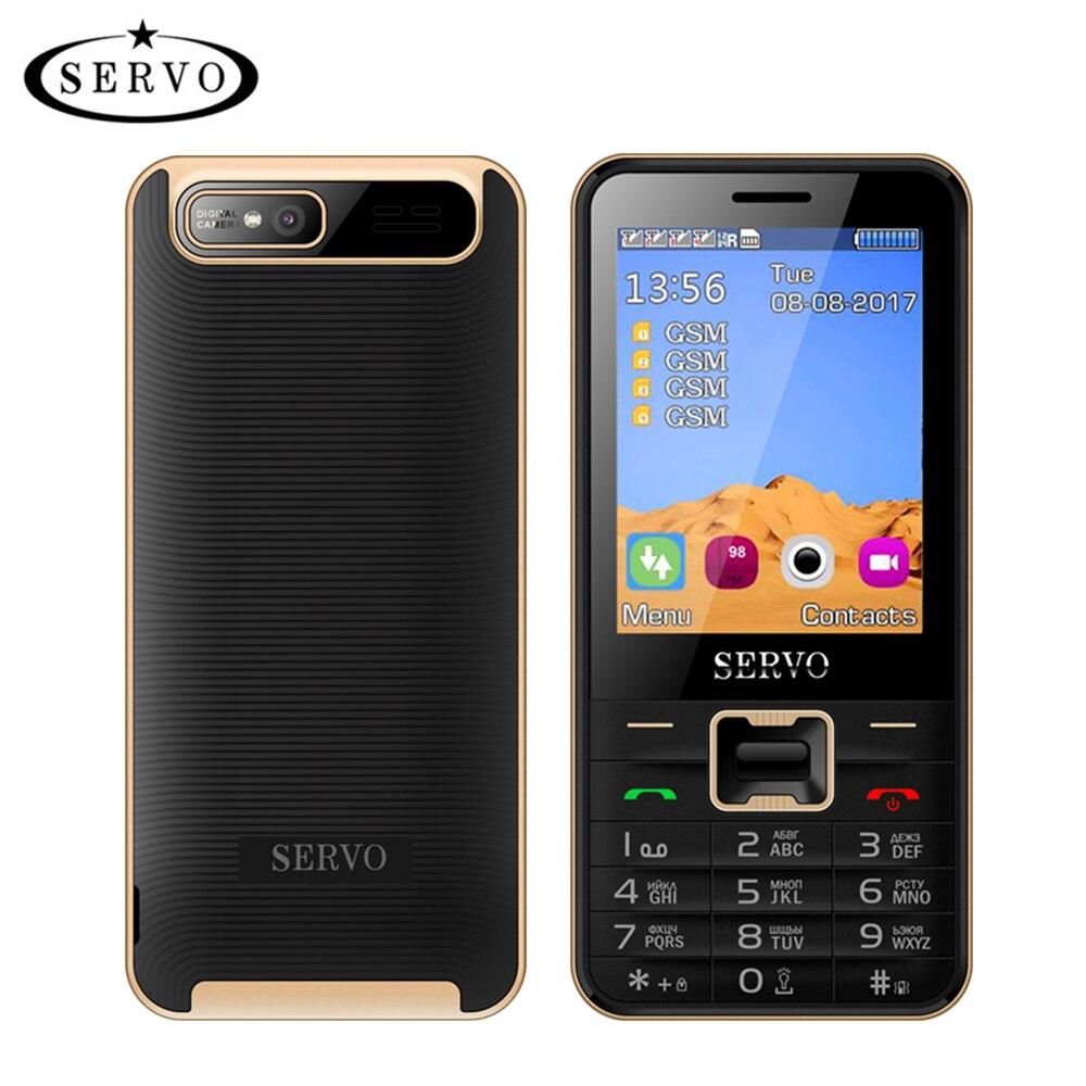 Quad Sim del telefono Cellulare Quad Band 2.8 pollice 4 schede SIM 4 Telefono Bluetooth standby Torcia Elettrica MP3 MP4 GPRS tastiera di Lingua Russa