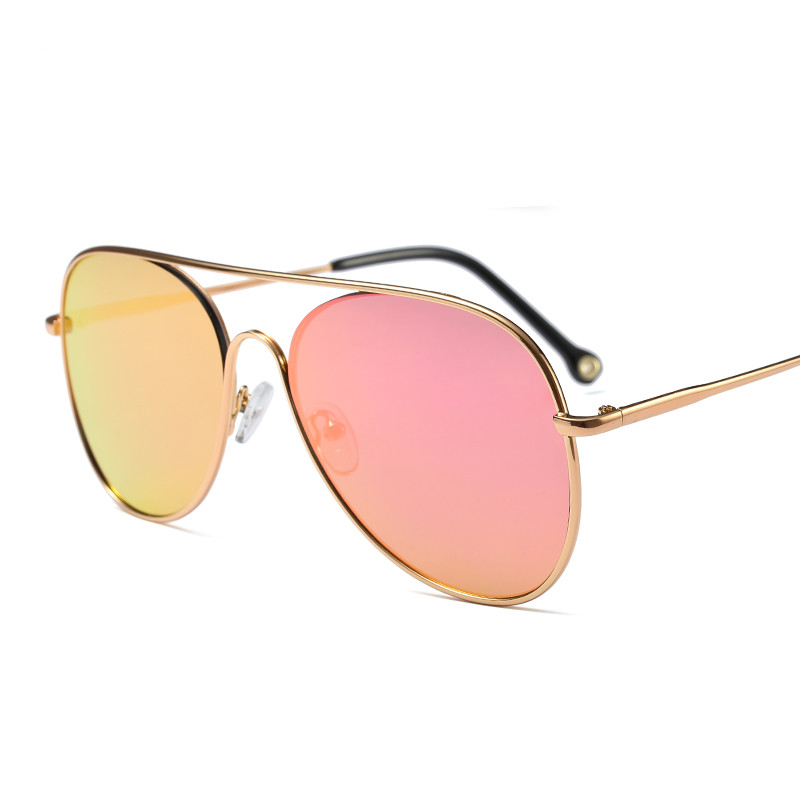 2018 Hot Sale Fashion pilot Metal street shot retro Men women Sunglasses Vintage Brand star Designer uv400 protection PC-092