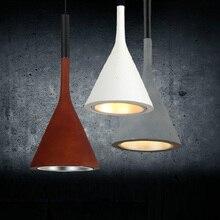 Envío libre Cocina sola Barra de luces colgantes de aluminio Nordic Sencilla lámpara de loft industrial luz comedor iluminación interior