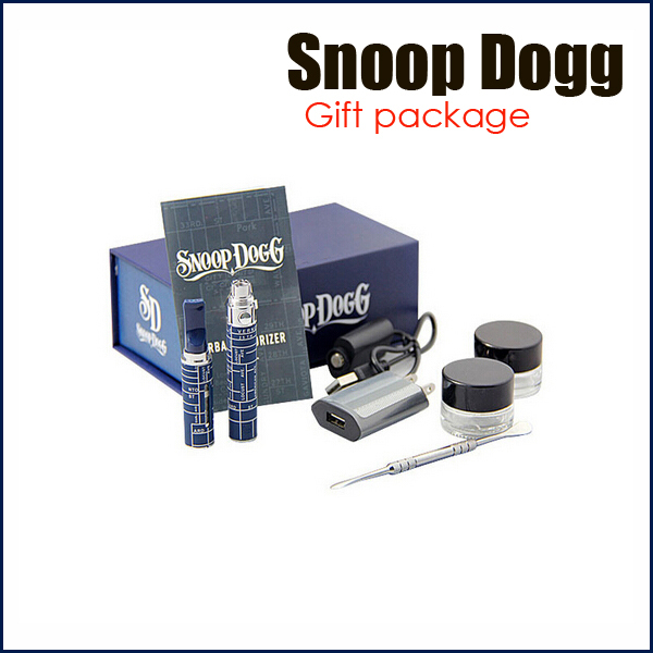 Electronic cigarette Snoop dogg Dry Herb Vaporizer e-cig kit herbal vaporizer for Healthy Herbal Vaporizador hookah