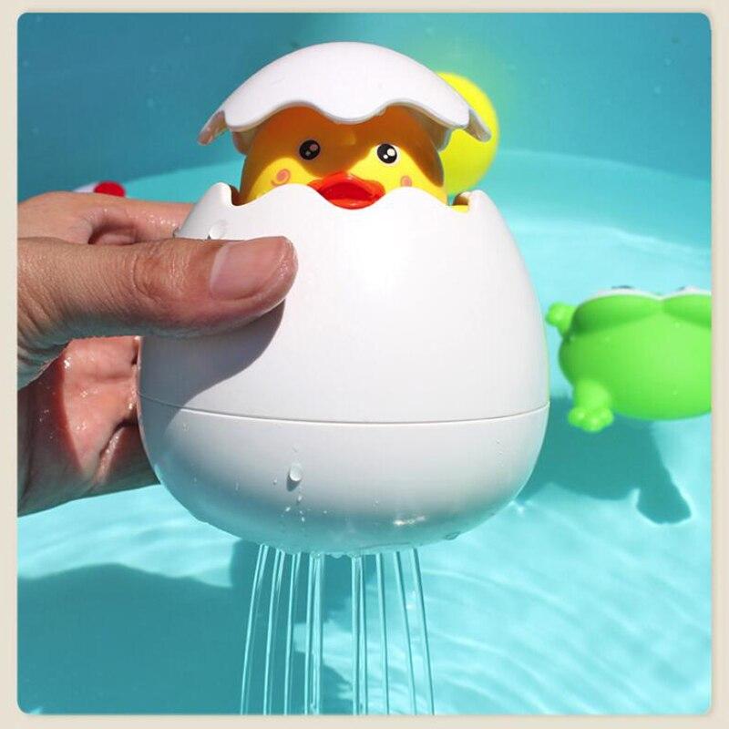 Baby Care Bath Toys Duck Penguin Water Spray Sprinkler Bathroom Prinkling Children Kids Funny Bathtub Baby Shower Accessories