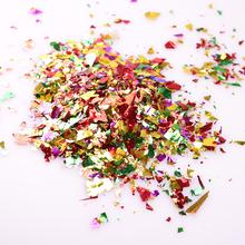 Nowe przyjęcie świąteczne ręcznie rzucanie cekiny DIY panna młoda pan młody rekwizyty cekiny ręcznie kolorowe kwiat rzut dekoracji Lp002 tanie tanio merylover CONFETTI Ślub i Zaręczyny Wielkie Wydarzenie Birthday party Dzień dziecka Prima aprilis Powrót do szkoły