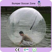 Бесплатная доставка 2 м раздувной Гуляя воды Шарики шары гигантский надувной пляжный мяч вода bubble ball