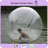 Free Shipping 2m Inflatable Water Walking Ball Water Balloons Balls Giant Inflatable Beach Ball Water Bubble Ball
