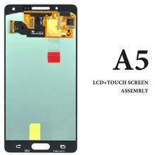3pcs For Samsung A5 2015 A500 A500F A500H LCD Screen 5 Inch Blue White Gold Display Assembly Smartphone Repair And Replacement