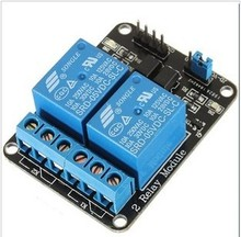 10pcs/Lot 2-Channel New 2 Channel Relay Module Relay Expansion Board 5V Low Level Triggered 2-Way Relay Module For Arduino