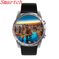 EnohpLX KW99 Smart Watch Android 5 1 MTK6580 1 39 AMOLED 3G WIFI GPS Smartwatch For
