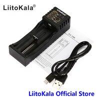 LiitoKala Lii 100 1.2 V 3.7 V 3.2 V 3.85 V AA/AAA 18650 18350 26650 10440 14500 16340 25500 niMH bateria de lítio carregador inteligente|liitokala lii-100|battery smart charger|smart charger -