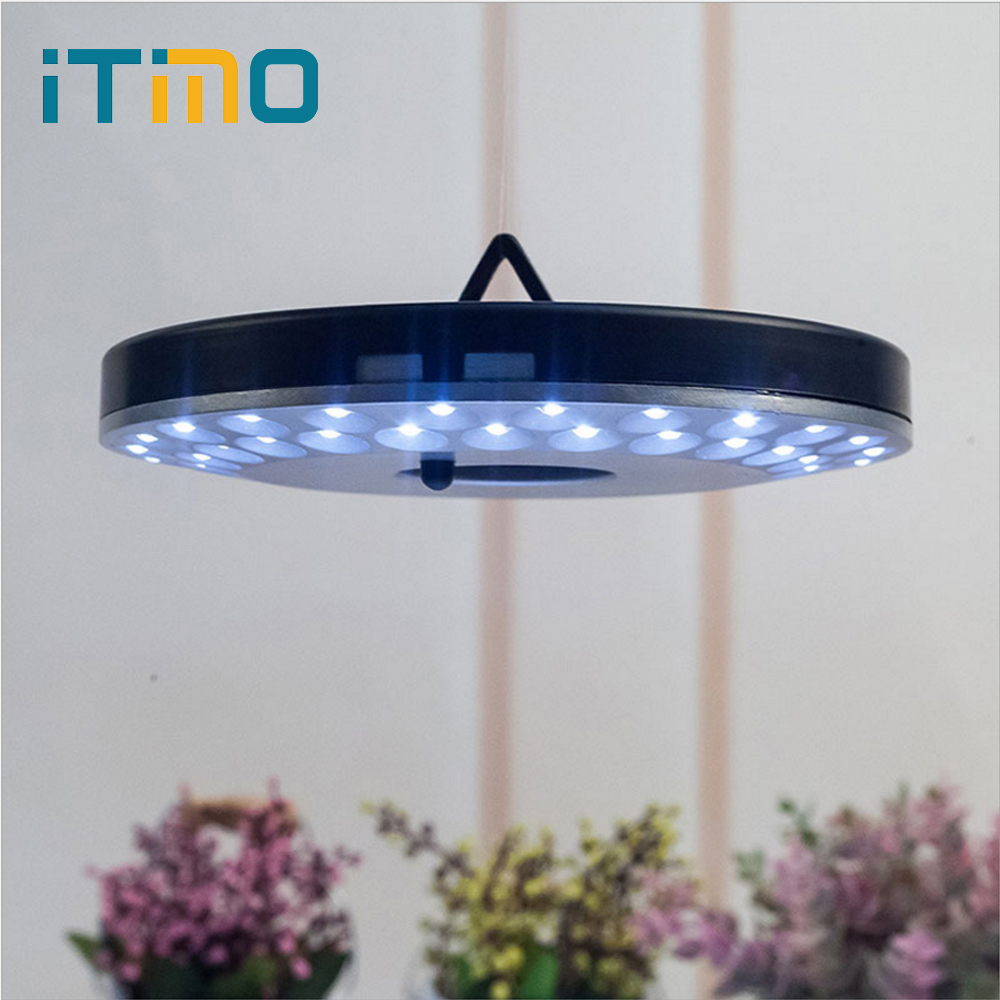 ITimo 48 LED Patio Umbrella Light Magnetic Night Light 3 Modes Portable  Camping Lantern For Yard