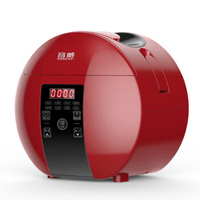 Best Rice Cooker with Reservation/insulation Function Mini Electric Rice Cooker for Student Dormitory1.8L for 1 3 People Red