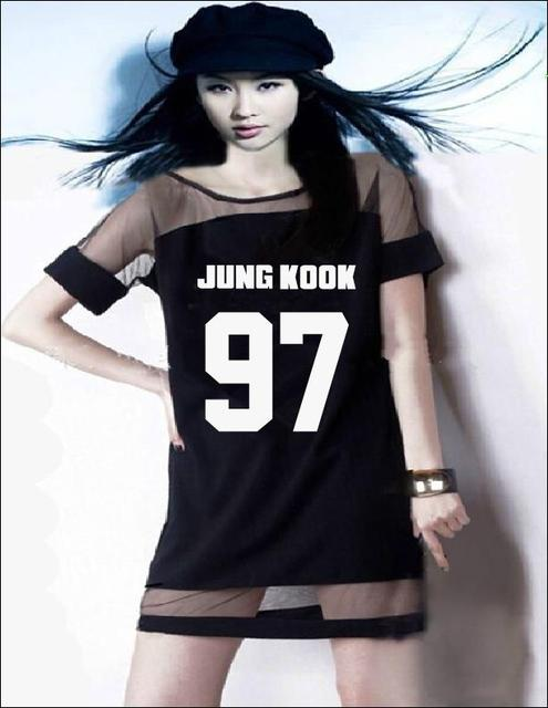 Black kpop dresses