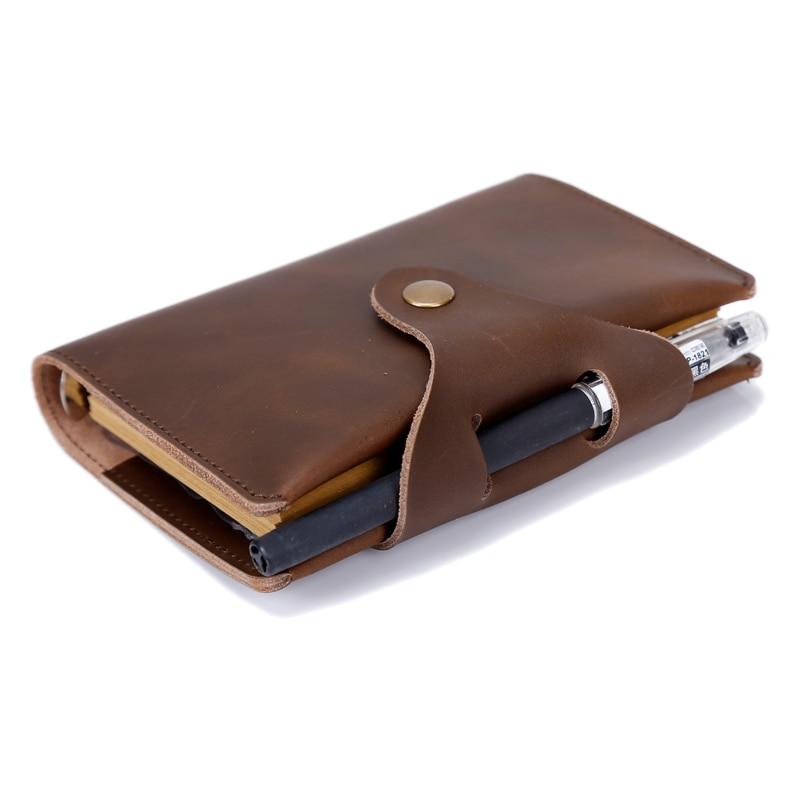 Leaf Genuine Leather Passport Holder Wallet Case Cover for Men Women