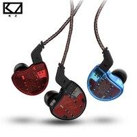 KZ ZS10 In Ear Earphone Dynamic 4BA hybrid 10 Driver Armature Earbuds HiFi DJ Monitor high fidelity Deep Bass ZS6 ZSA for xiaomi
