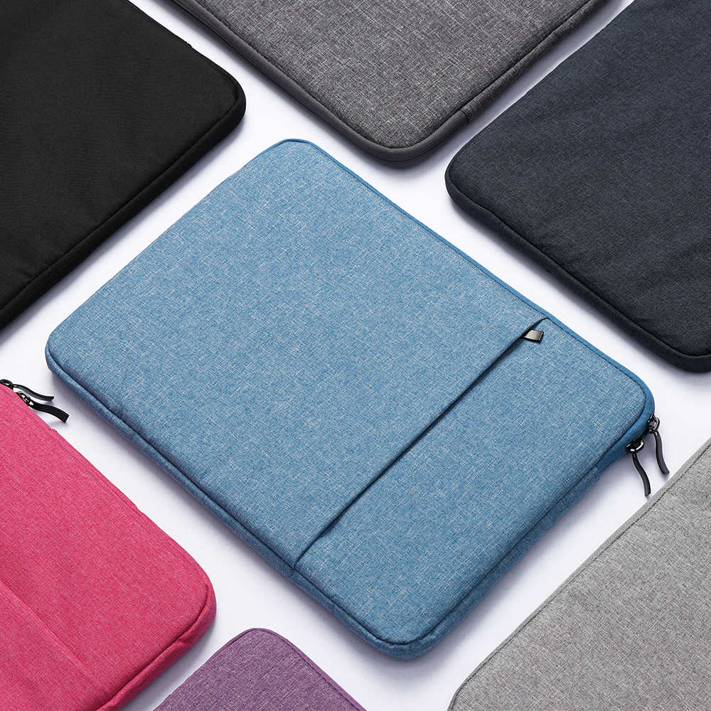 ラップトップバッグスリーブケースカバーノートブックポーチ Macbook Air は Pro のレノボ、 Hp 、 Dell Asus 11 13 15 15.6 インチ